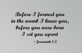 before formed you
