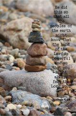 stack stones
