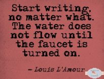 writing amour quote