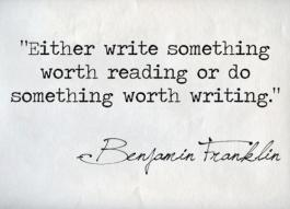 ben-franklin-quotes writing