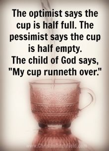 cup run over