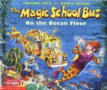 school bus ocean