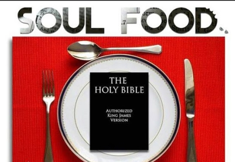 soul food logo place setting