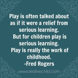 play work mr. rogers