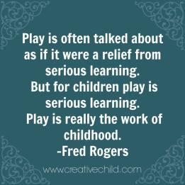 play work mr. rogers