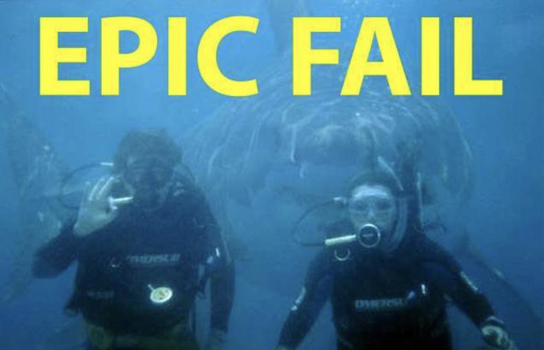 epic fail shark